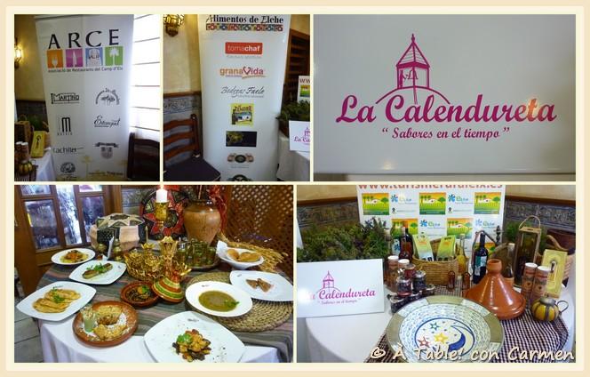 Interviajes en el 8º encuentro de la sociedad gastronómica La Calendureta.