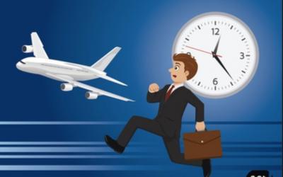 Los 5 errores más comunes al viajar en avión.