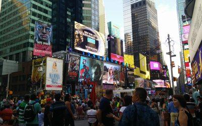 Nueva York, Times Square, el corazón de Manhattan.