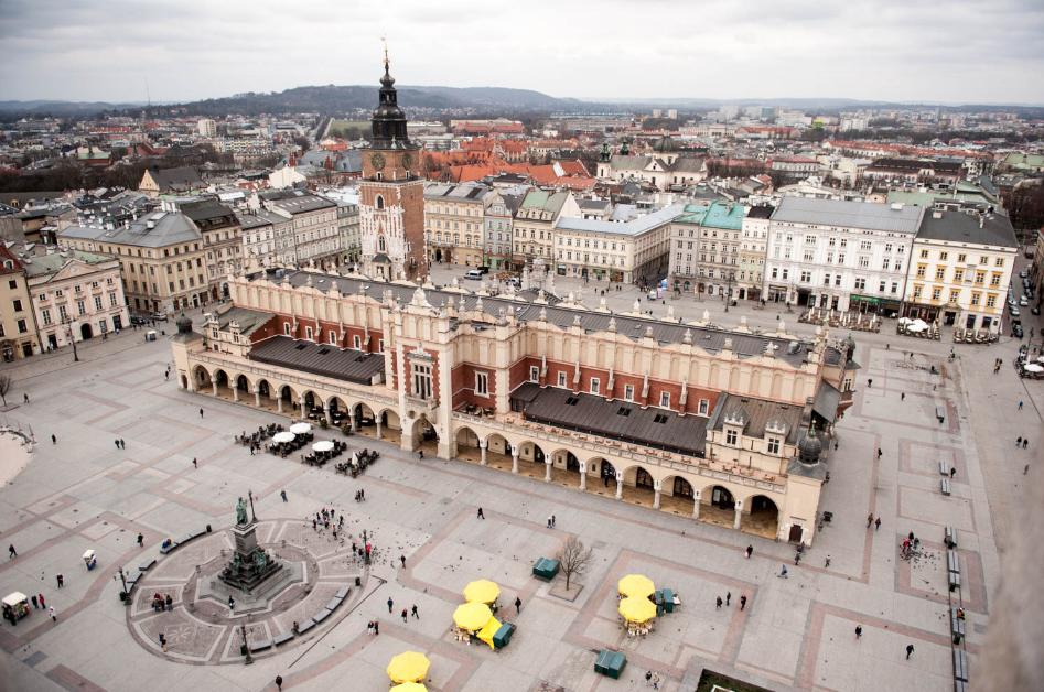 Escapada a Cracovia, experiencias imprescindibles, Plaza del Mercado o Market Square.
