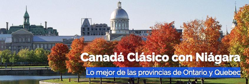 Canadá clásico con Niágara