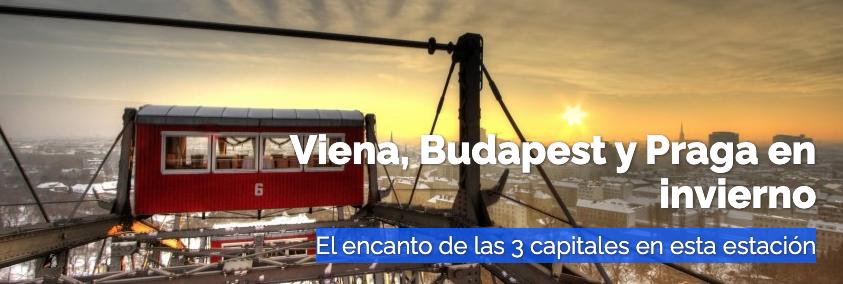 Viena, Budapest y Praga en invierno.
