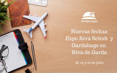 Nuevas fechas para Expo Riva en Garda.